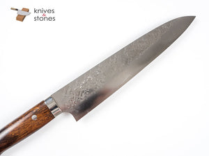 Takeshi Saji SRS-13 Gyuto 240mm Ironwood with Custom Saya