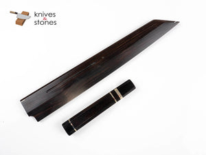 K&S Custom Ebony Handle and Saya Set