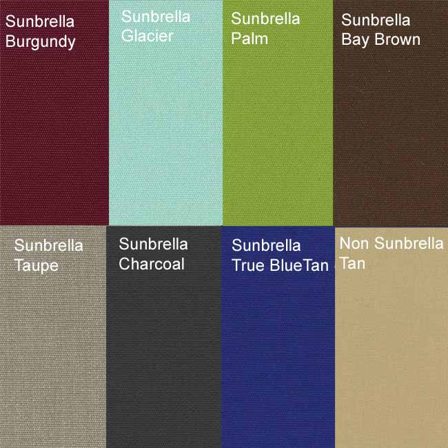 Sunbrella outdoor Dining Chair Cushion