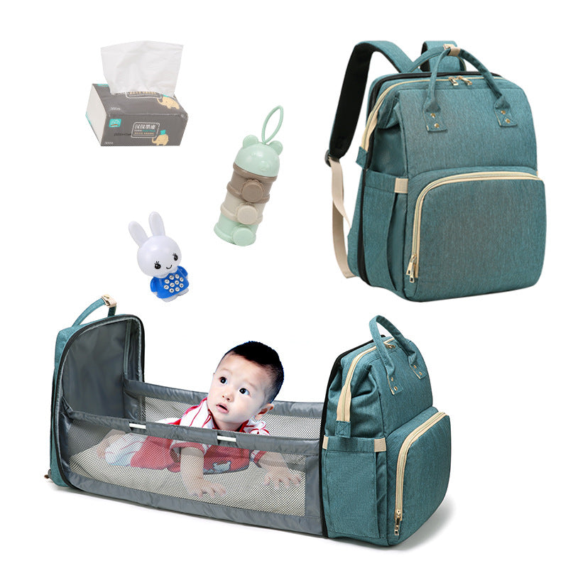 Portable Folding Crib Mommy Bag
