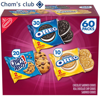 Nabisco Sweet Treats Cookie Variety Pack 60 pk.