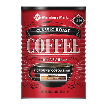 Member's Mark Classic Roast Ground Coffee 48 oz