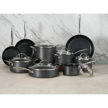 Member's Mark 15-Piece Hard Anodized Aluminum Cookware Set