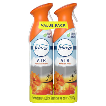 Febreze Odor Eliminating Air Freshener Spray Hawaiian Aloha 2 Ct