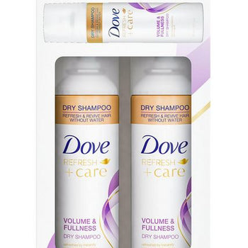 Dove Dry Shampoo Volume and Freshness with Bonus Travel Size (7.3 oz., 2 pk.)
