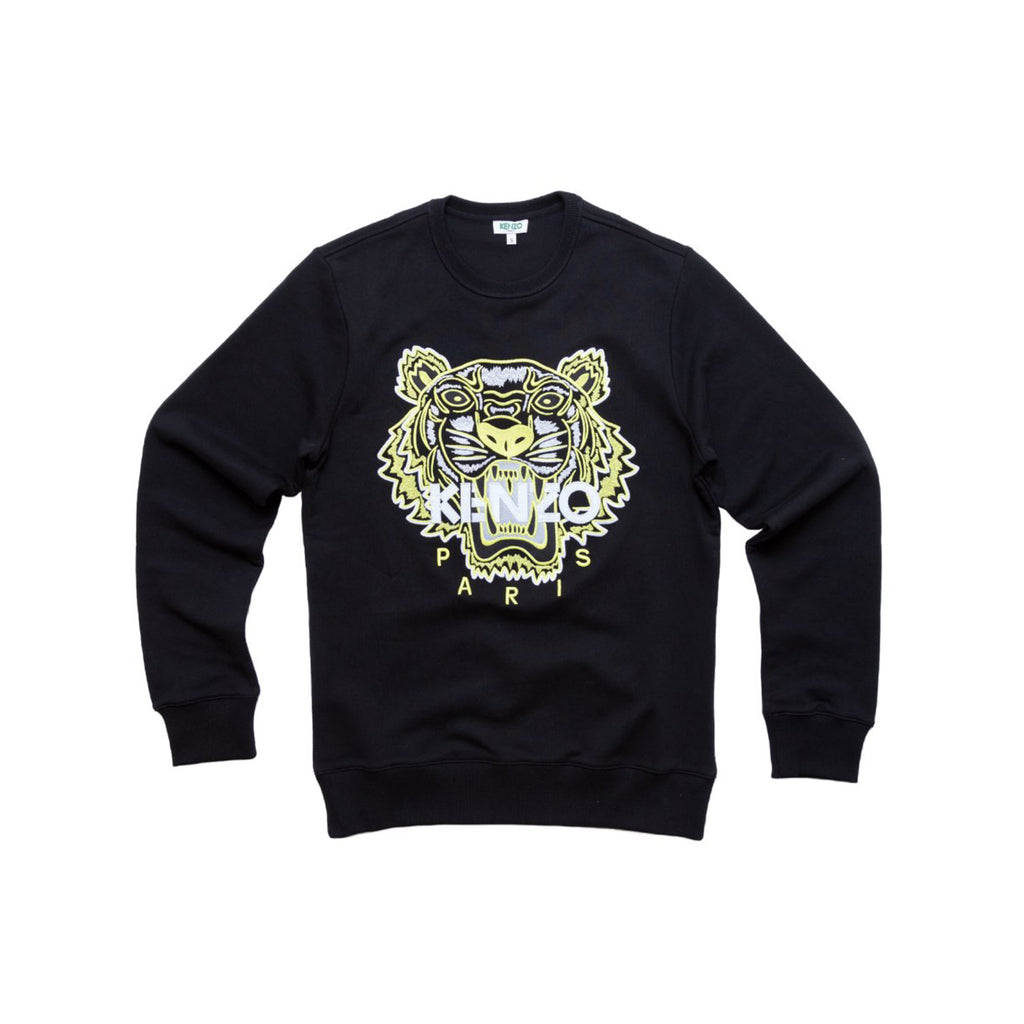"TIGER SWEATSHIRT ""HIGH SUMMER CAPSULE COLLECTION"" - BLACK"