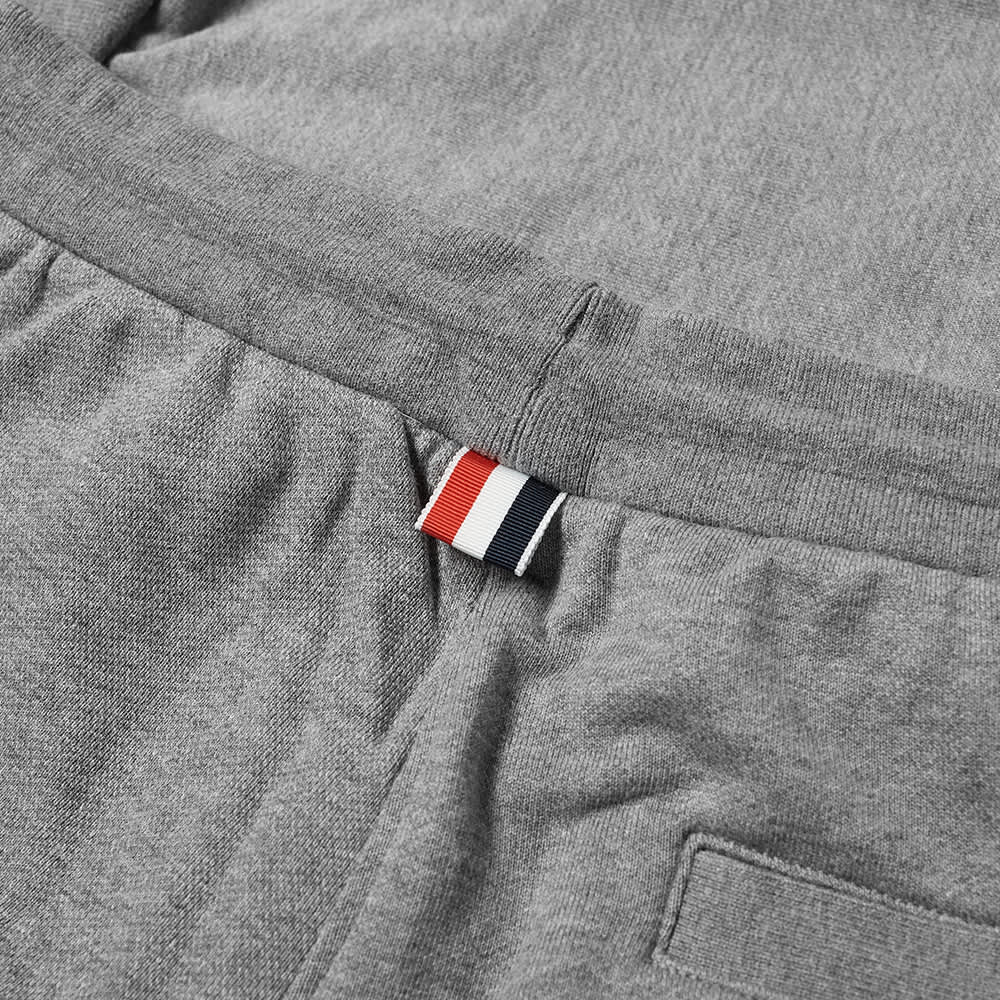 THOM BROWNE SWEATPANTS IN TONAL 4 BAR LOOPBACK - MED GREY