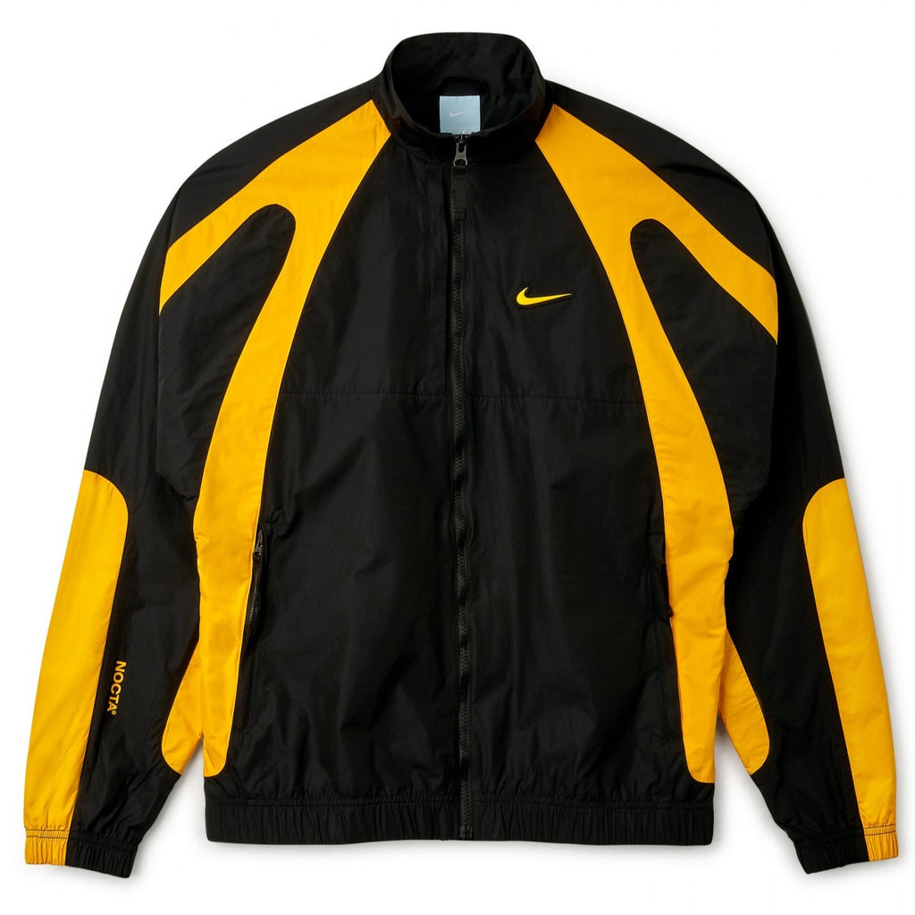 NIKE X NOCTA TRACK JACKET - BLACK/UNIVERSITY GOLD