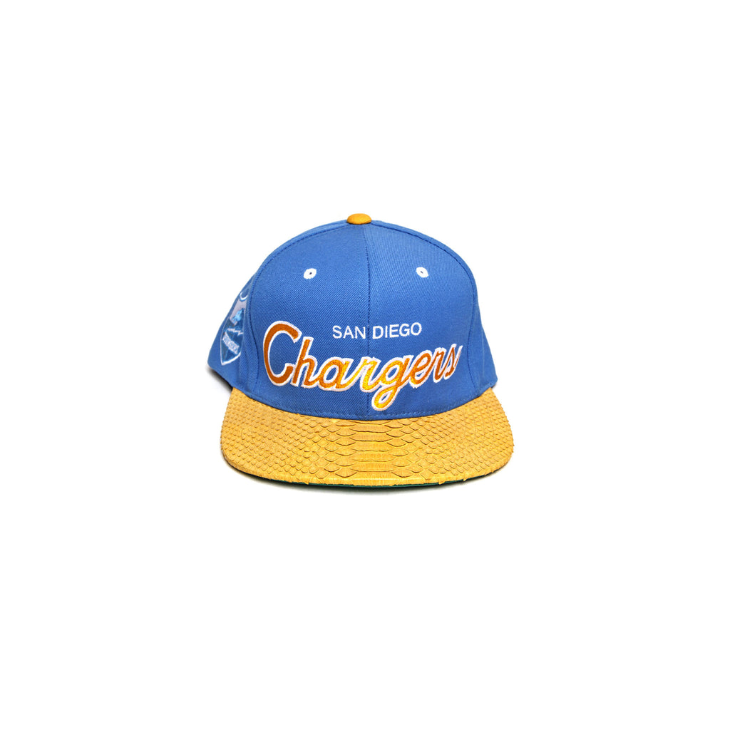 SAN DIEGO CHARGERS SCRIPT - BLUE