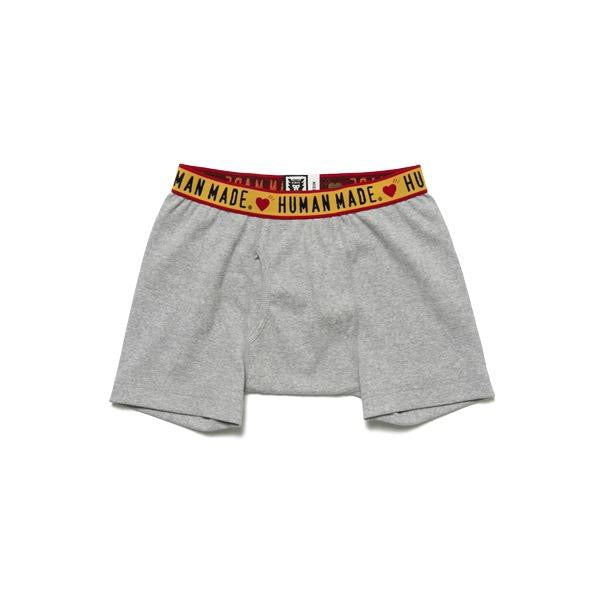 HUMAN MADE HMMD BOXER BRIEF - GRAY