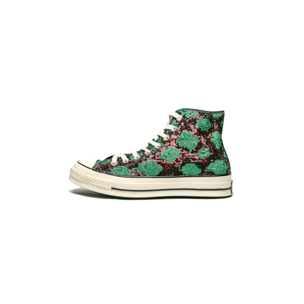 SNAKESQUINS CHUCK 70 - RED/GREEN