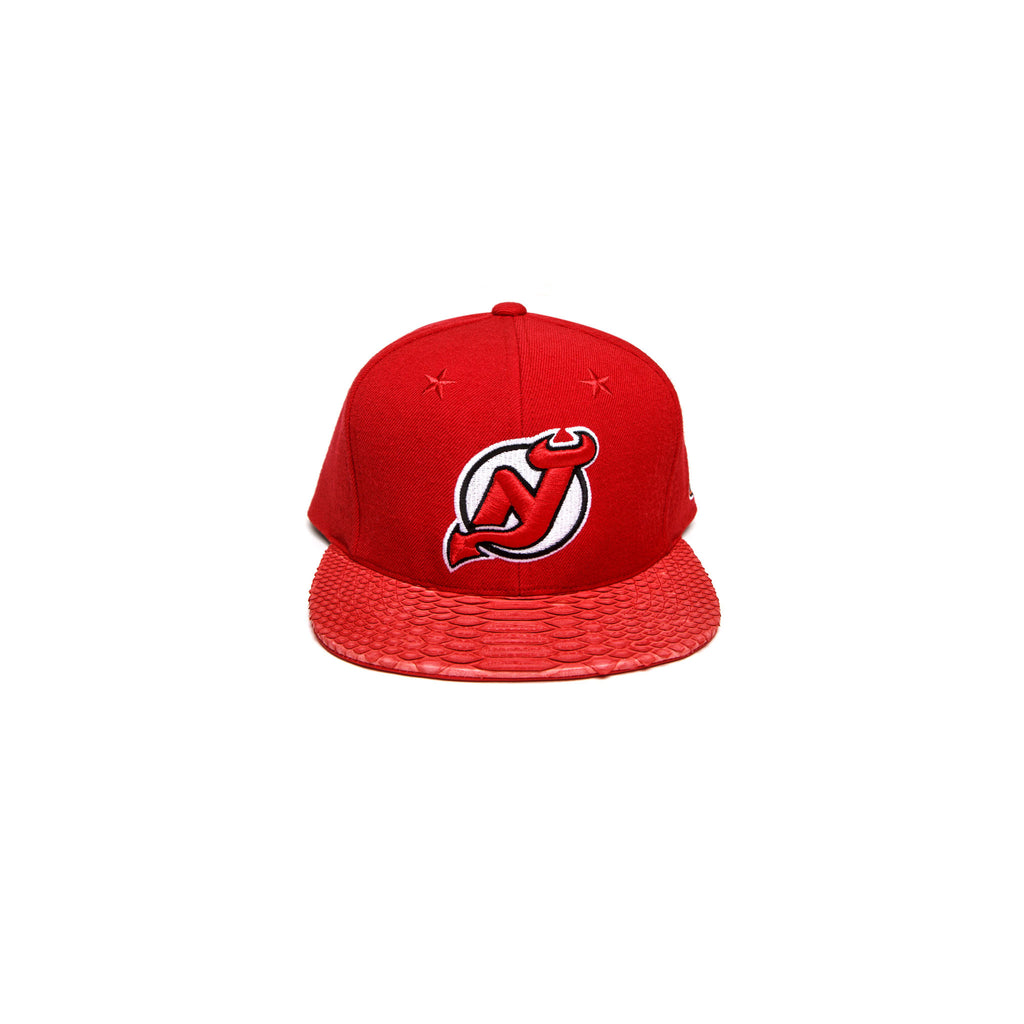 NEW JERSEY DEVILS LOGO - RED
