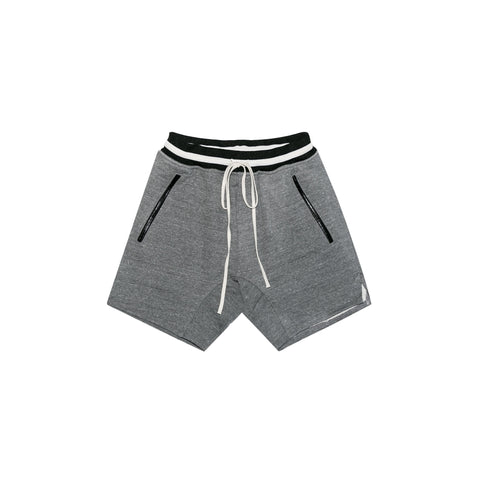 5TH COLLECTION HEAVY TERRY SWEATSHORTS - GREY