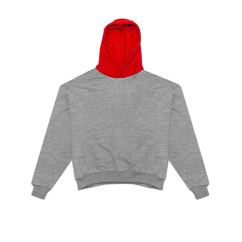 5TH COLLECTION HEAVY TERRY EVERYDAY HOODIE - HEATHER GREY