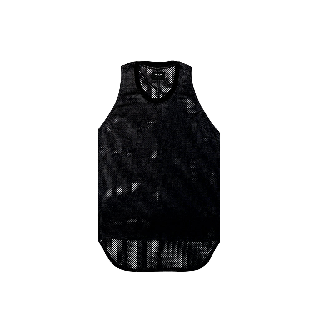 5TH COLLECTION MESH TANK - BLACK