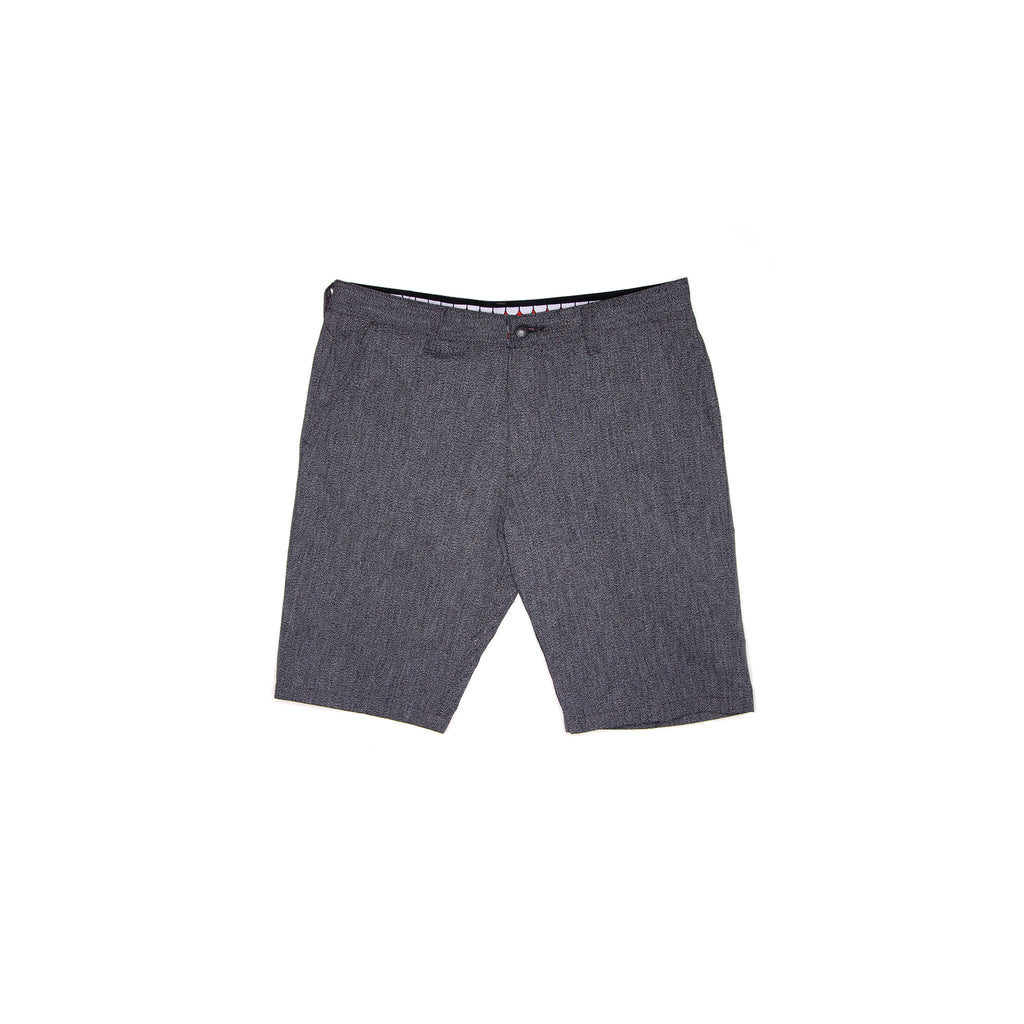 TEETH CHAMBRAY SHORT - BLACK
