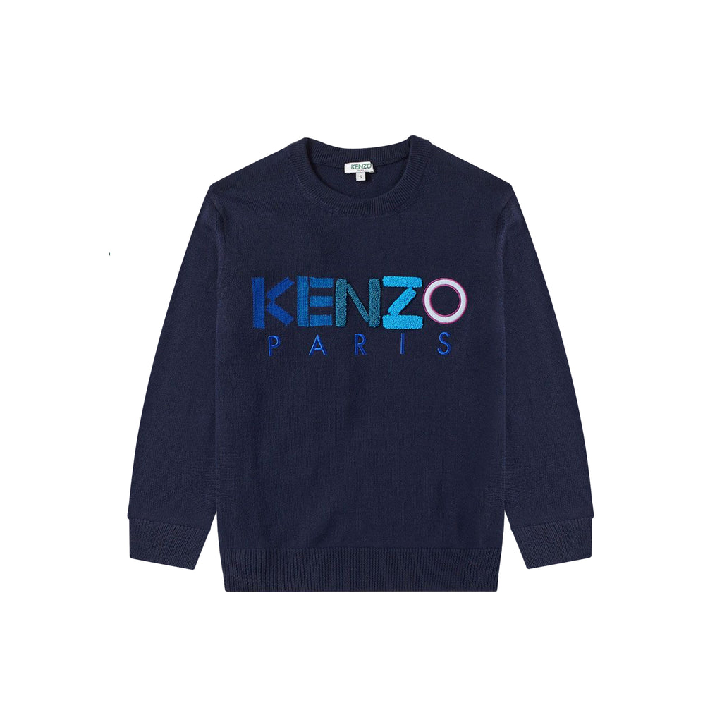 LOGO JUMPER - NAVY