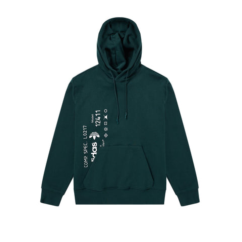GRAPHIC HOODIE - GREEN