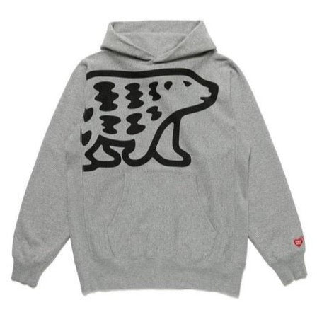 HUMAN MADE PIZZA HOODIE - GRAY
