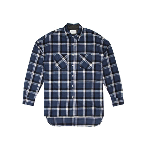 4TH COLLECTION FLANNEL - BLUE
