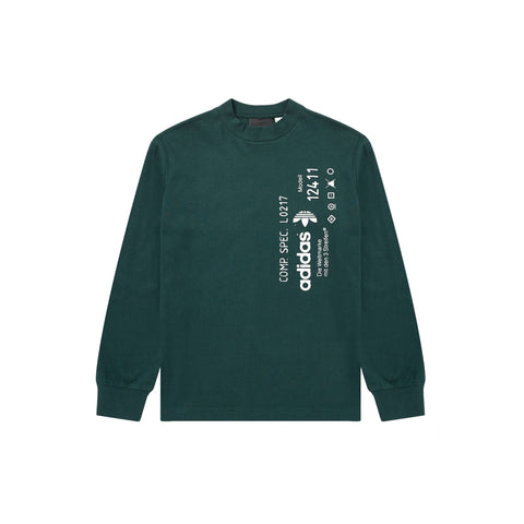 GRAPHIC LONG SLEEVE - GREEN