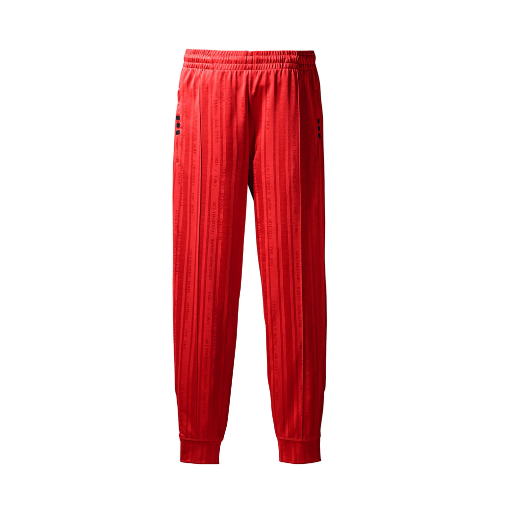 ADIDAS ORIGINALS x AW TRACK PANTS - RED