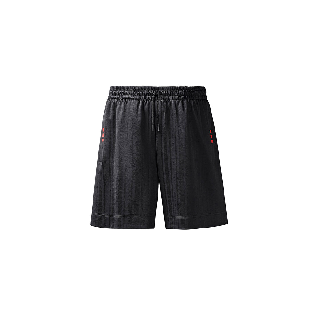 DRAW SOCCER SHORTS - BLACK