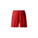 DRAW SOCCER SHORTS - RED