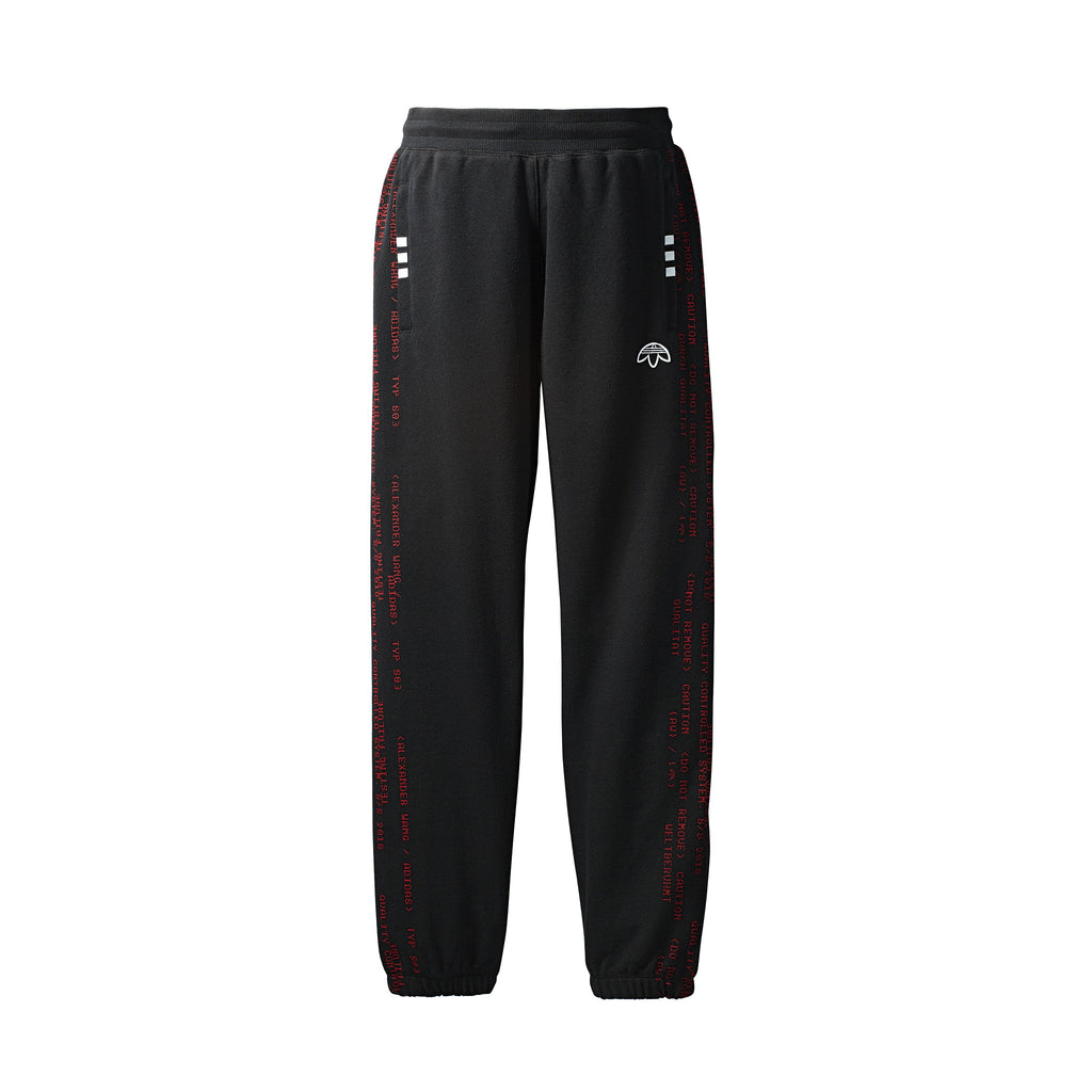 ADIDAS ORIGINALS x AW DRAW JOGGERS - BLACK
