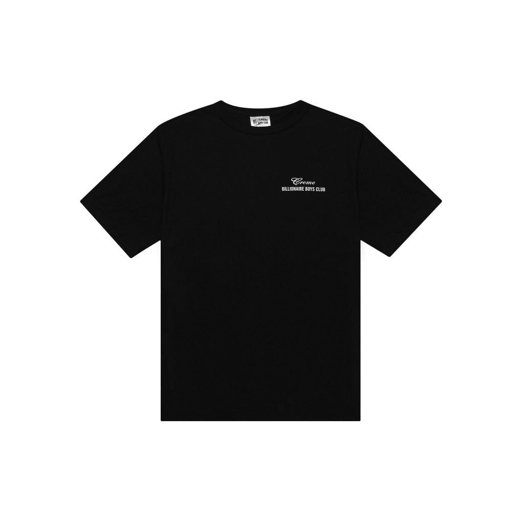 CREME X BILLIONAIRE BOYS CLUB VIRGINIA TEE - BLACK