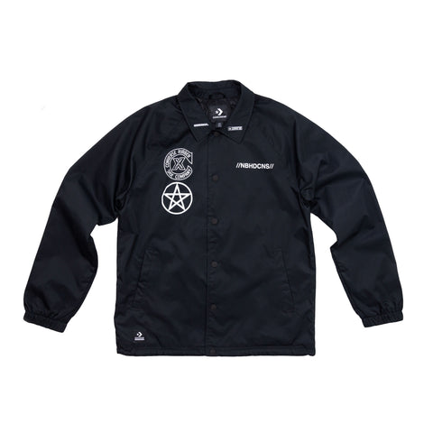 Converse x Neighborhood Coaches Jacket - Front View