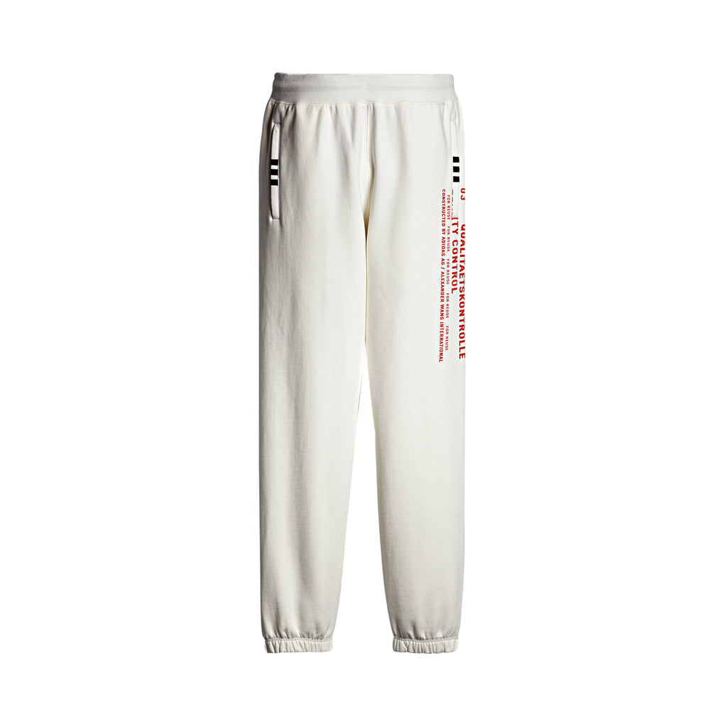 GRAPHIC JOGGER - WHITE