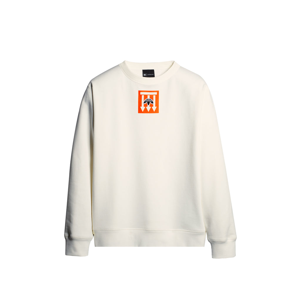 ADIDAS ORIGINALS x AW GRAPHIC CREW - WHITE
