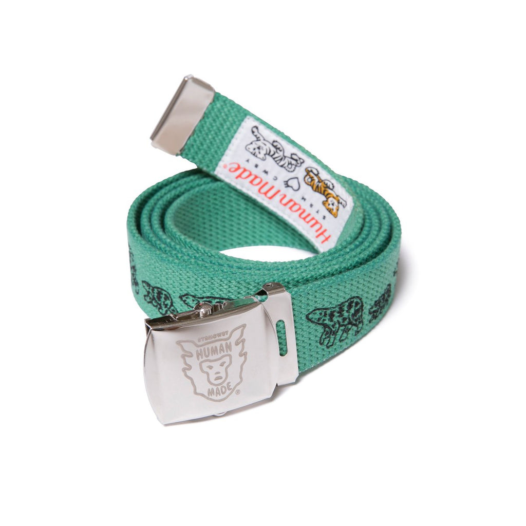 HUMAN MADE WEB BELT - GREEN