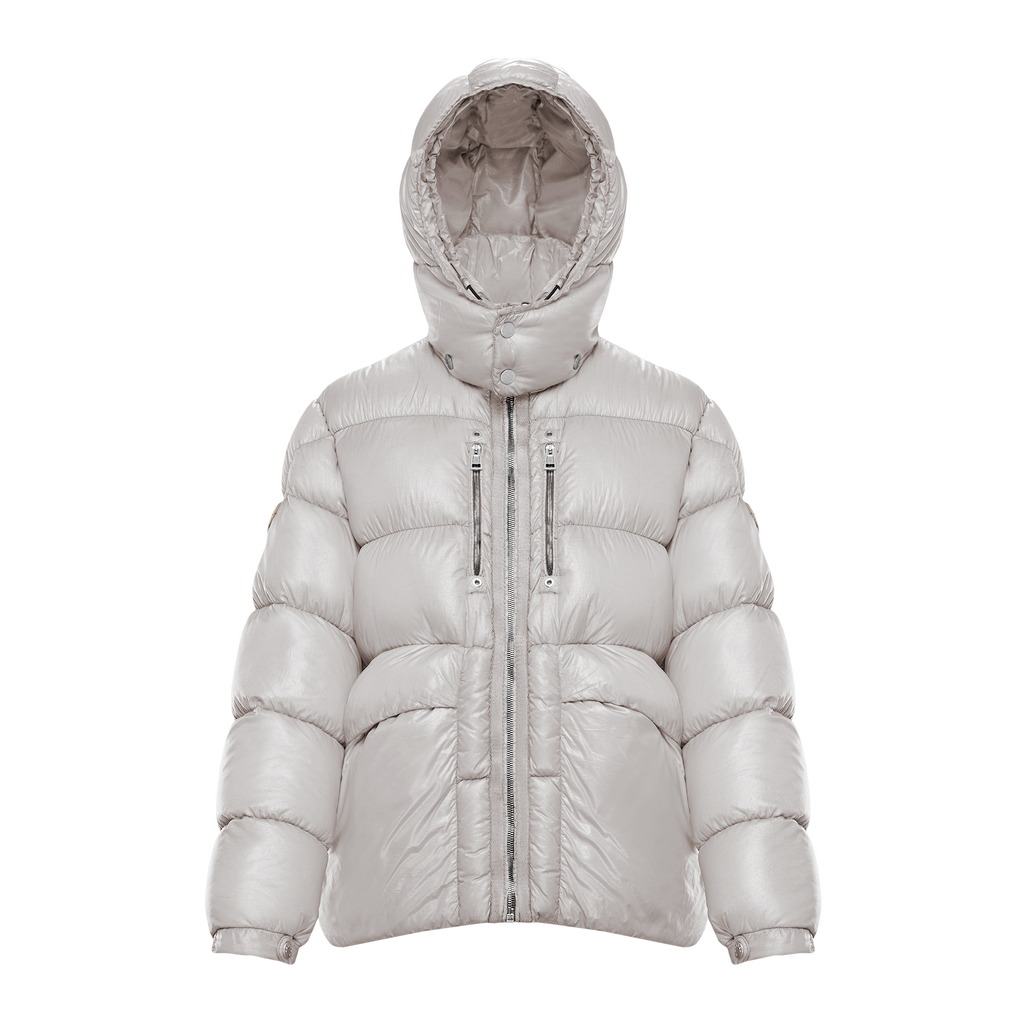 6 MONCLER 1017 ALYX 9SM FOREST JACKET - SILVER