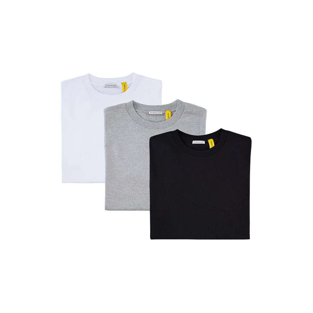 6 MONCLER 1017 ALYX 9SM T-SHIRT 3 PACK