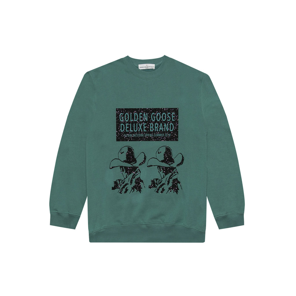 SWEATER ALFRED - WATER GREEN