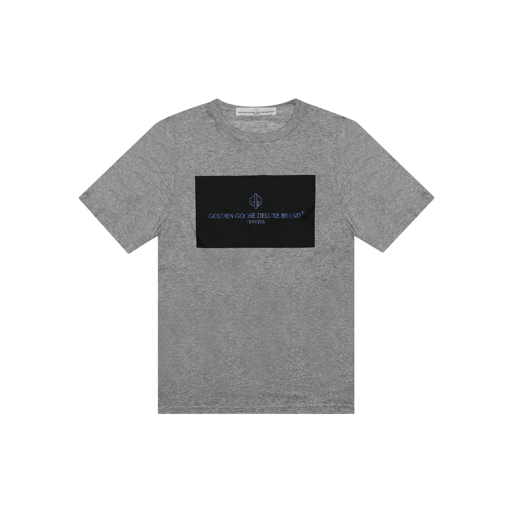 T-SHIRT GOLDEN - MELANGE GREY