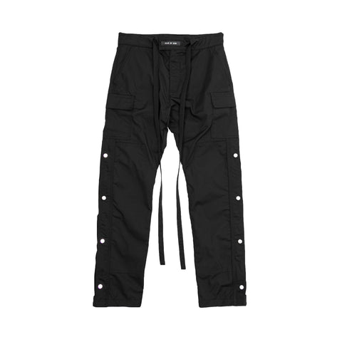 6TH COLLECTION NYLON CARGO PANT - BLACK