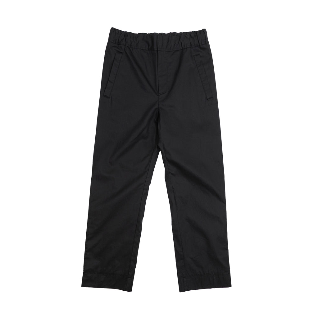 ACNE STUDIOS POLLOCK TECH COTTON PANTS - BLACK