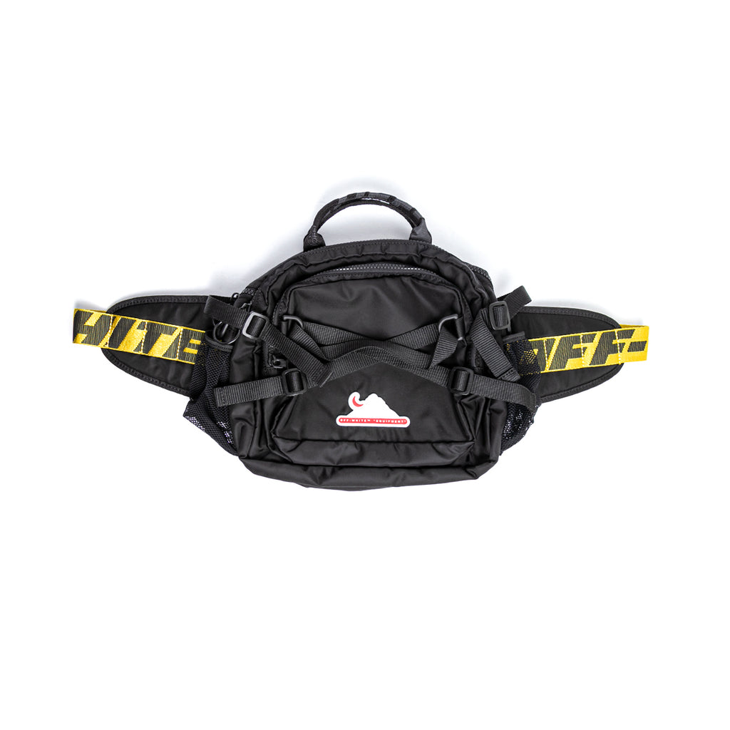 OFF-WHITE MAXI CAMERA FANNYPACK - BLACK