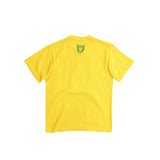 HUMAN MADE BOLD HEART LOGO TEE - YELLOW