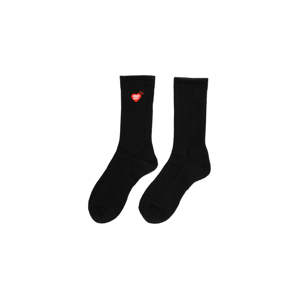 PILE SOCKS  - BLACK
