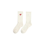 PILE SOCKS  - WHITE