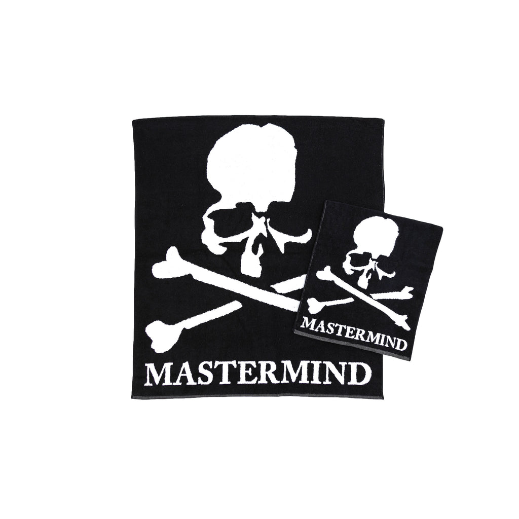 MASTERMIND SKULL TOWEL SET - BLACK