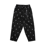 MASTERMIND BLACK SKULL BEACH PANTS - BLACK