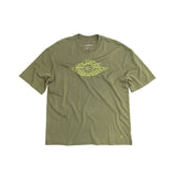 AIR JORDAN WOMEN'S T-SHIRT - MEDIUM OLIVE
