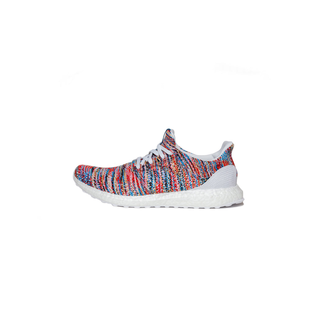 ADIDAS CLIMA ULTRABOOST BY MISSONI - CLOUD WHITE / SHOCK CYAN / ACTIVE RED