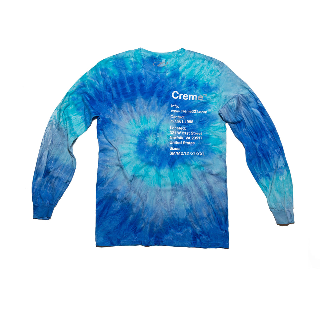 Creme Info Blue Jerry Long Sleeve