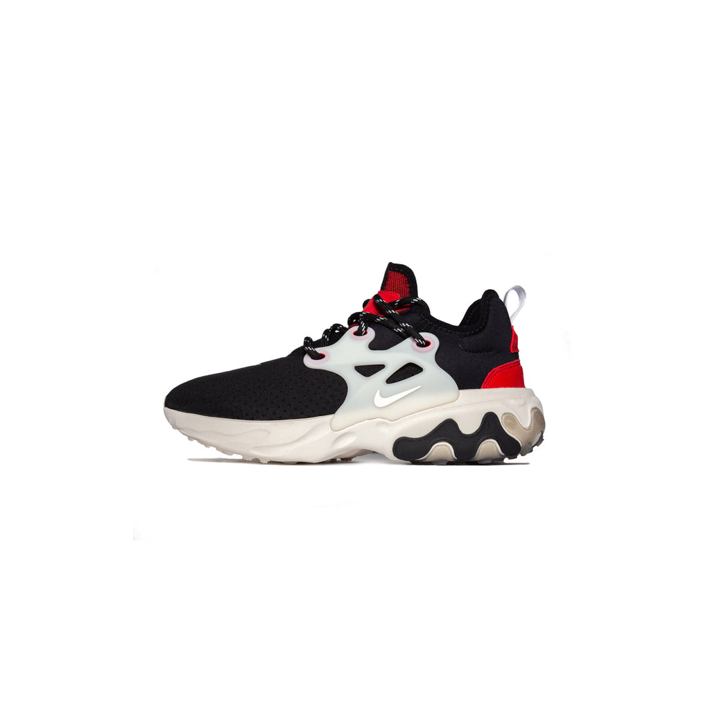 NIKE REACT PRESTO - BLACK/ PHANTOM/ UNIVERSITY RED